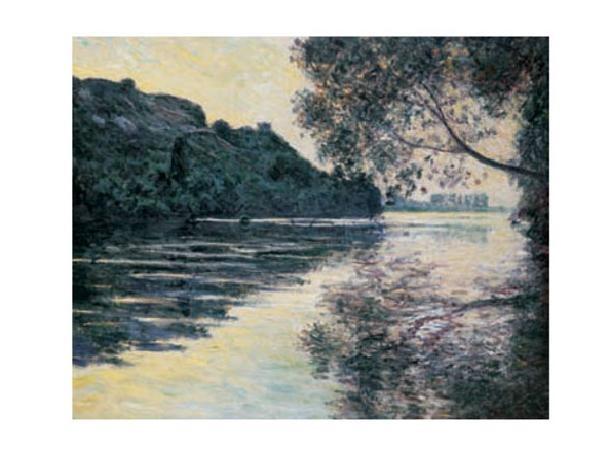 The Sun on The Seine Reproduction de Tableau