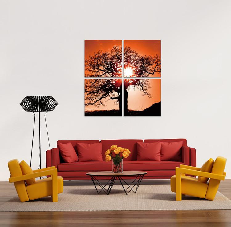 Tree of life Tableau Multi-Toiles