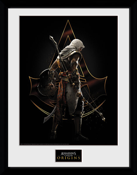 Assassins Creed: Origins - Assassin Afiș înrămat