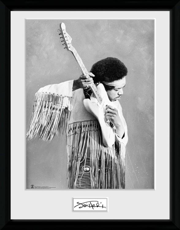 Jimi Hendrix - Pose Afiș înrămat