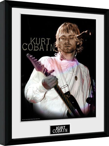 Kurt Cobain - Cook Afiș înrămat