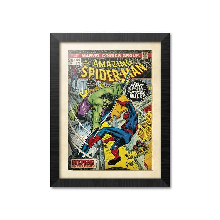 Afiș înrămat Marvel Comics - Spiderman