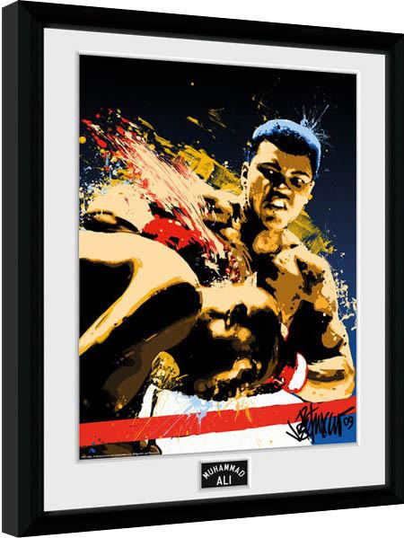 Muhammad Ali – Art 30x40cm Collector Print Afiș înrămat
