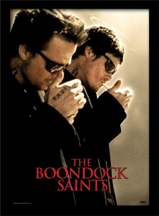 The Boondock Saints - Light Up tablou Înrămat cu Geam
