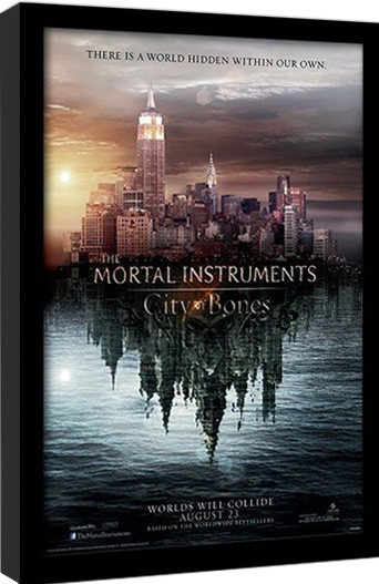 THE MORTAL INSTRUMENTS CITY OF BONES – teaser Afiș înrămat
