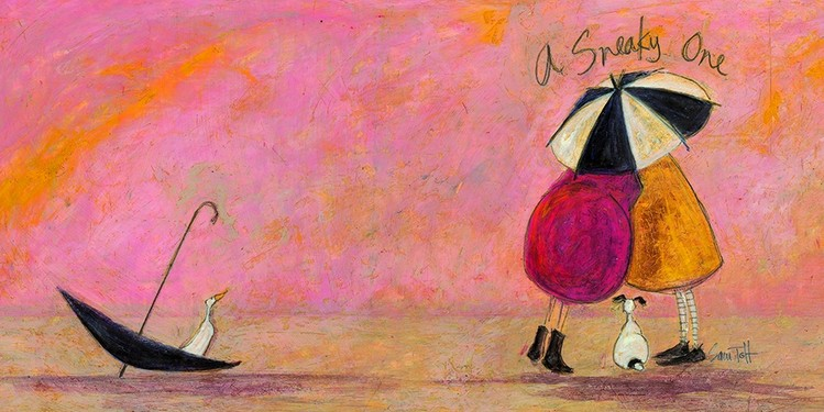 Tablou Canvas Sam Toft - A sneaky one II