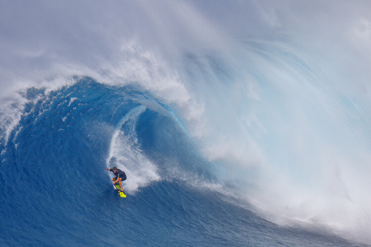 Tablou Canvas Surfing Jaws