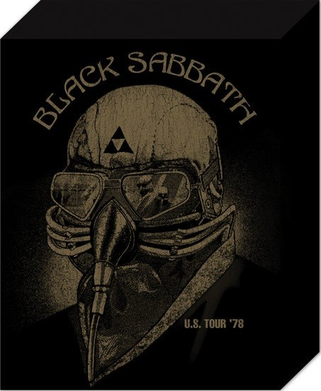 Black Sabbath - US Tour 78 Tablou Canvas
