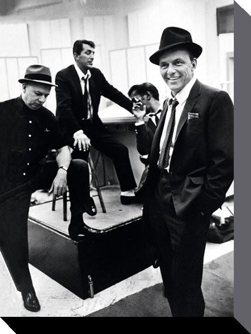 James Dean,Frank Sinatra & Sammy Davie jr. Tablou Canvas