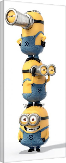 Minions (Despicable Me) - Stacked Tablou Canvas