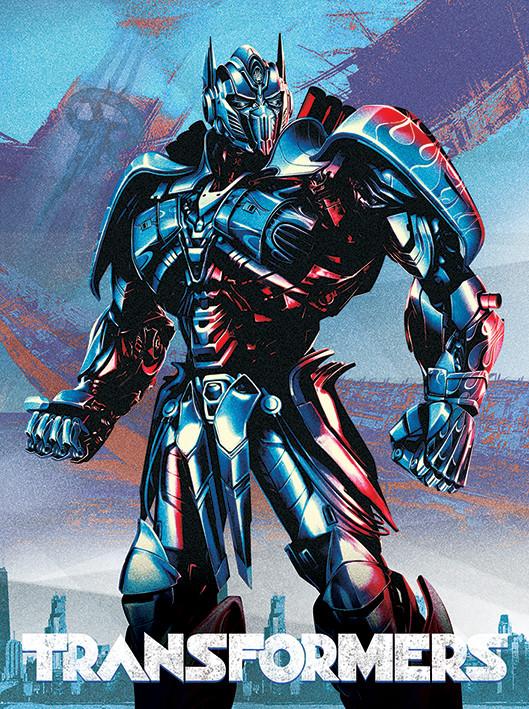 Transformers: The Last Knight - Optimus Tablou Canvas