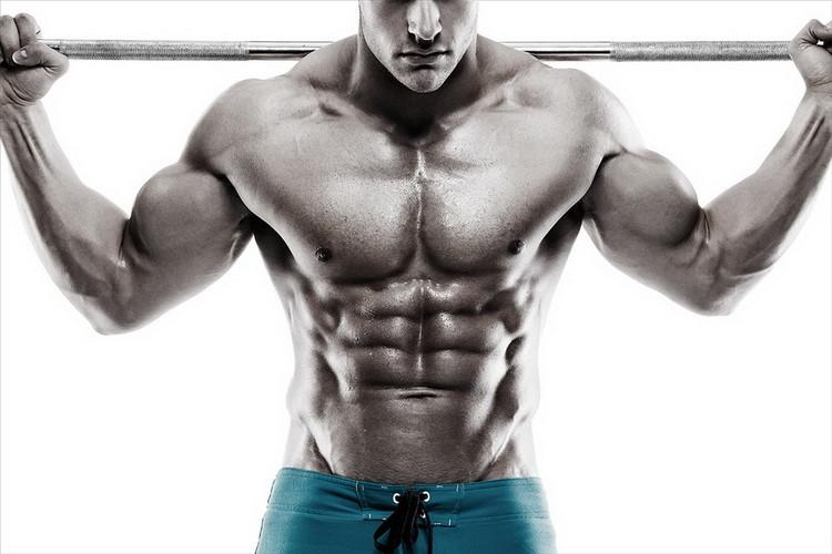 Tablouri pe sticla Strength and Muscles