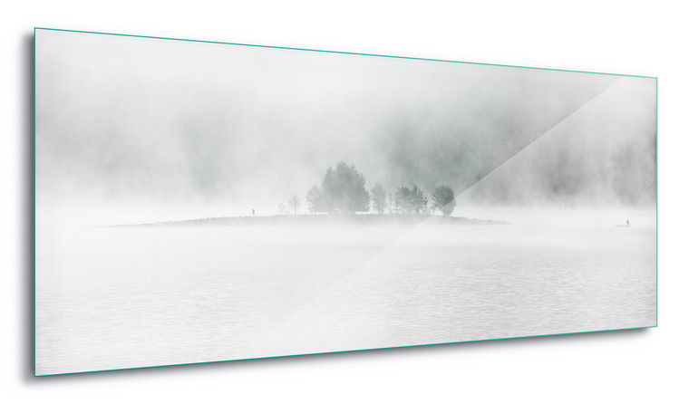 Tablouri pe sticla  White Lake