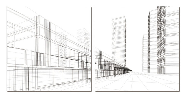 Architecture - City Tablou