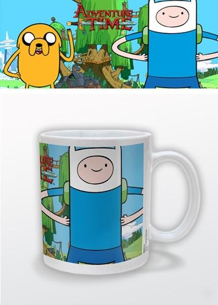 Tasse Abenteuerzeit mit Finn und Jake