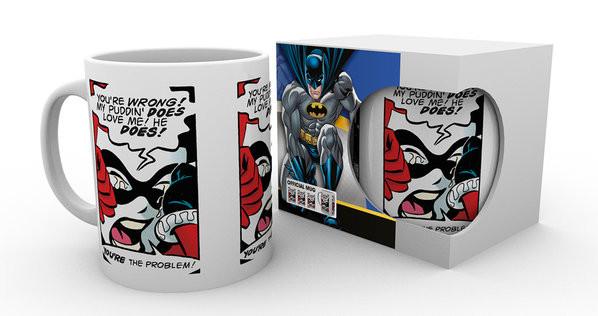 Tasse Batman Comics - Puddin