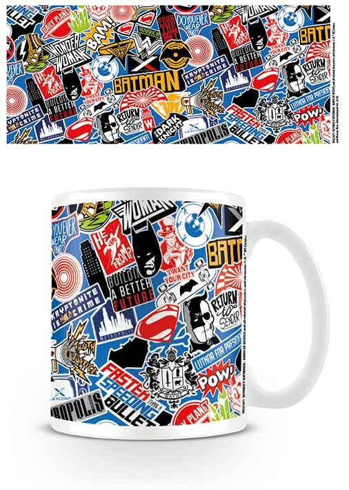 Tasse Batman v Superman: Dawn of Justice - Stickers