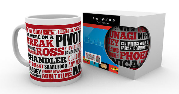 259cf3d8fb4 Tasse Friends TV - Quotes bei EuroPosters