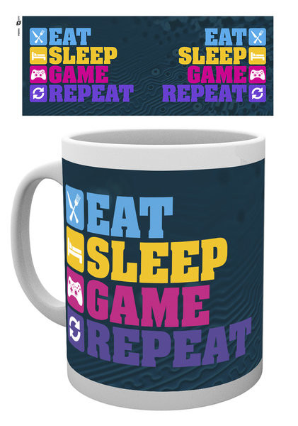 Tasse Gaming - Eat Sleep