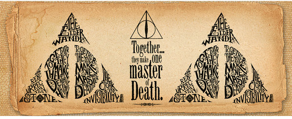 Tasse  Harry Potter - Deathly Hallows Words
