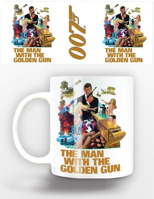 Tasse James Bond - man with golden gun