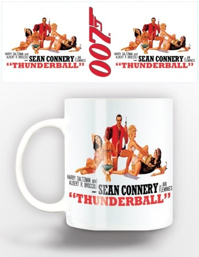 Tasse James Bond - thunderball