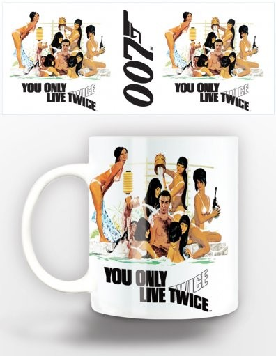 Tasse James Bond - you only live twice