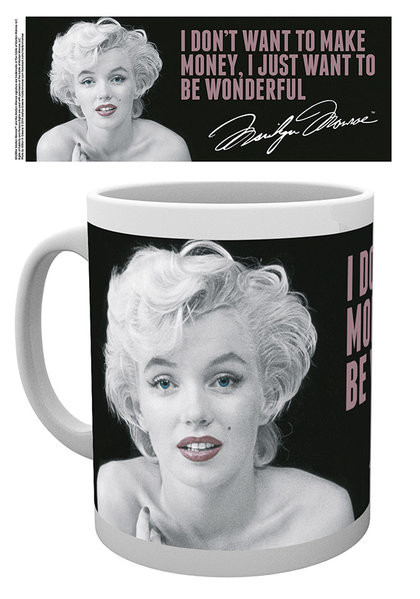 Tasse Marilyn Monroe - Quote