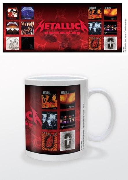 Tasse  Metallica - Albums
