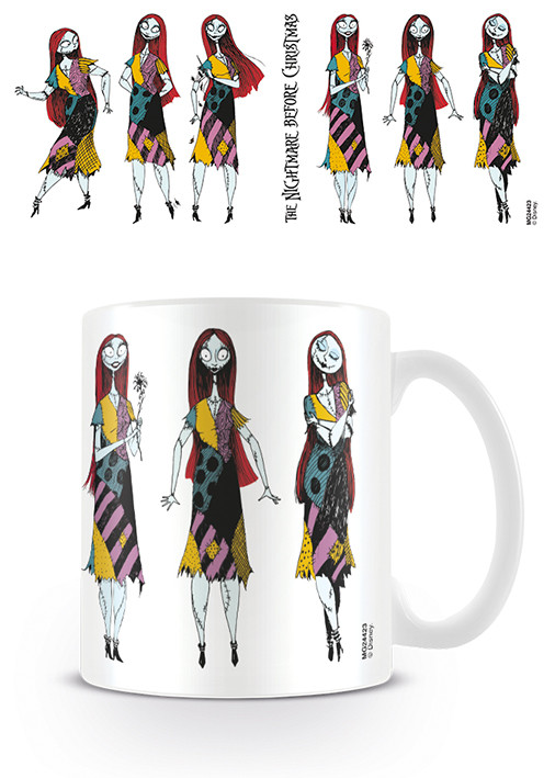 Tasse Nightmare Before Christmas - Sally Poses