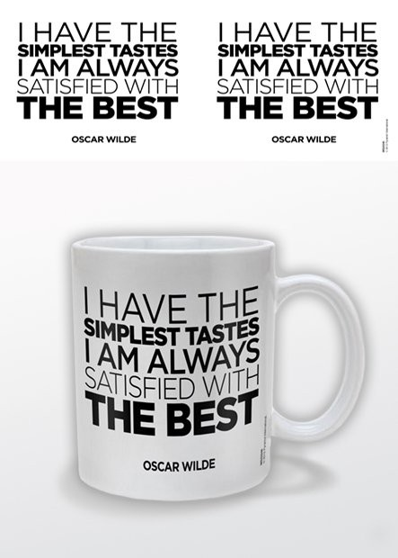 Tasse Oscar Wilde – The Best