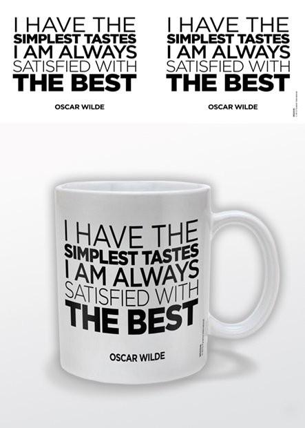 Tasse Oscar Wilde – The Best