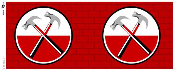 Tasse Pink Floyd: The Wall - Hammers
