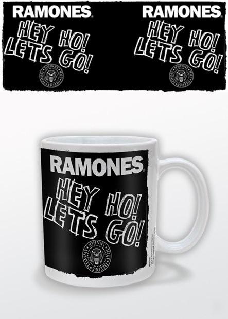 Tasse RAMONES - hey ho lets go