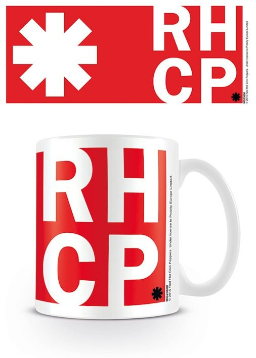Tasse Red Hot Chili Peppers - RHCP