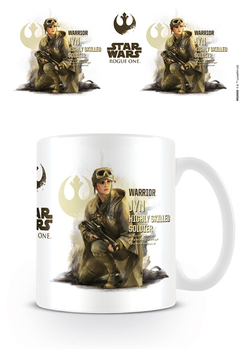 Tasse Rogue One: Star Wars Story - Jyn Profile