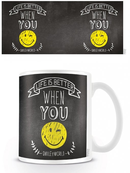 Tasse  Smiley - World Smiles WIth You