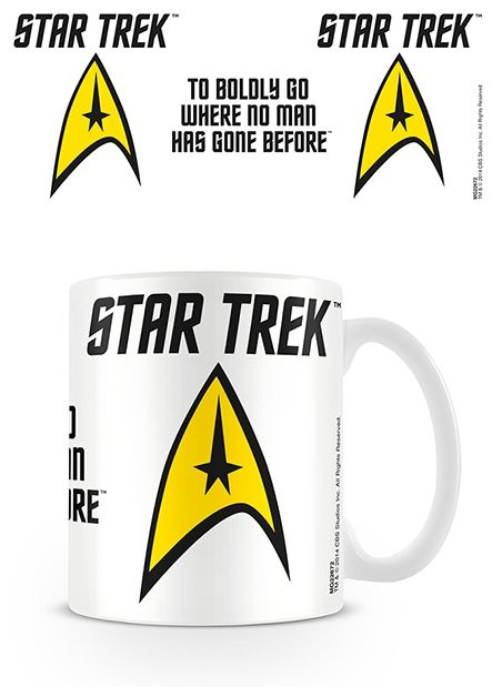 Tasse Star Trek - To Boldly Go