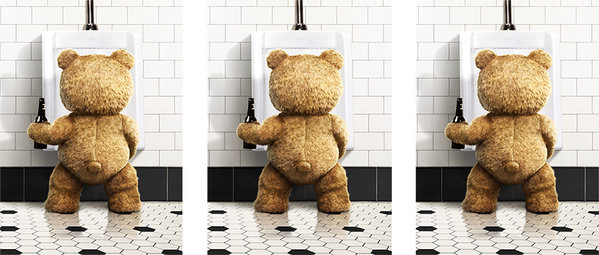 Tasse Ted 2 - Urinal