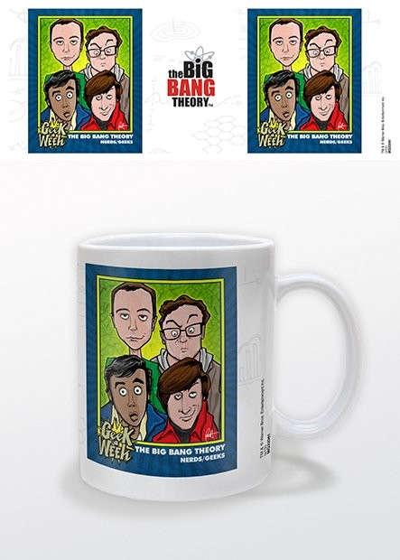 Tasse The Big Bang Theory - Geek a Week