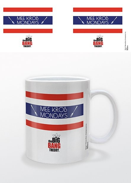 Tasse The Big Bang Theory - Mee Krob Mondays