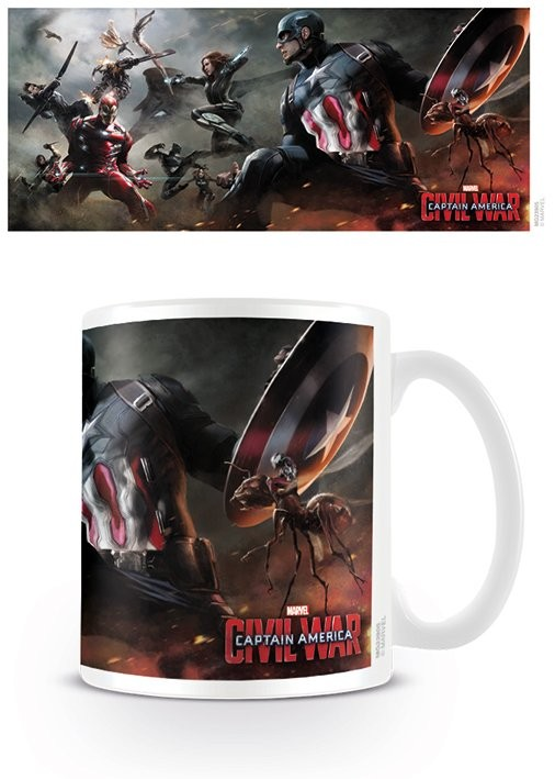 Tasse The First Avenger: Civil War - Battle