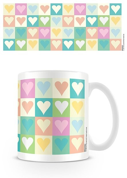Tasse Valentinstag - Hearts