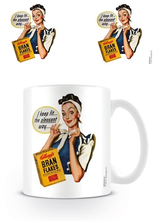 Tasse Vintage Kelloggs - I Keep Fit
