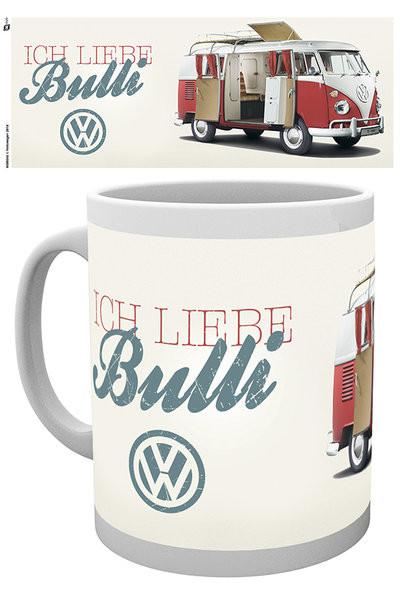 Tasse VW Volkswagen Camper - Ich Liebe Bulli
