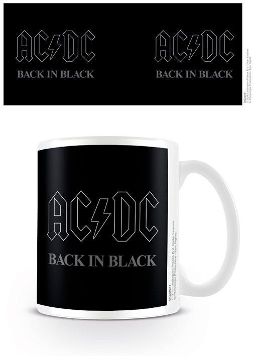 AC/DC - Back In Black Tasse