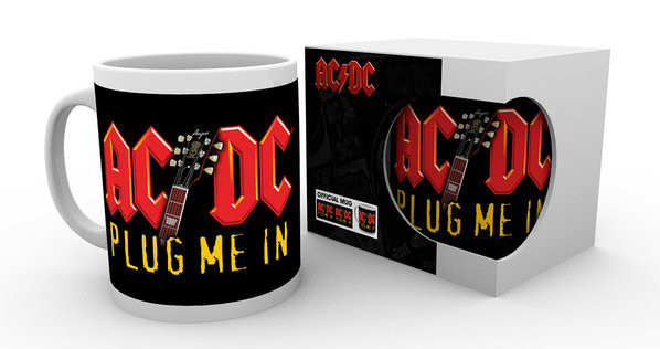 AC/DC - Plug Me In Tasse