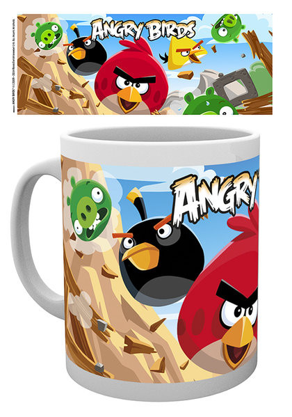 Angry Birds - Destroy Tasse