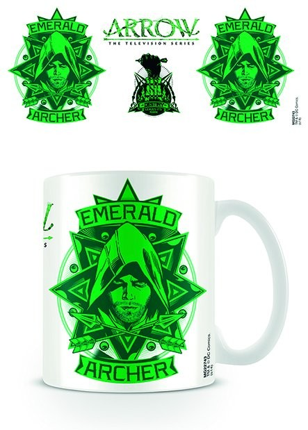 Arrow - Emerald Archer Tasse
