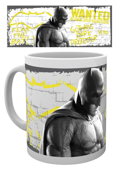 Batman v Superman: Dawn of Justice - Wanted Tasse